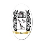 Iban 20x12 Oval Wall Decal