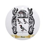 Iban Ornament (Round)