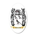 Ianuccelli 20x12 Oval Wall Decal