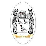 I'Anson Sticker (Oval 10 pk)