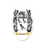 Ianson Oval Car Magnet