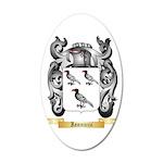 Iannuzzi 20x12 Oval Wall Decal