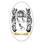 Iannuzzelli Sticker (Oval 50 pk)