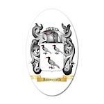 Iannuzzelli 20x12 Oval Wall Decal