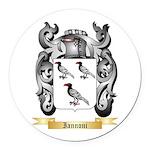 Iannoni Round Car Magnet