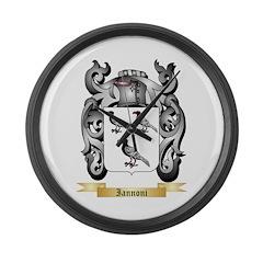 Iannoni Large Wall Clock