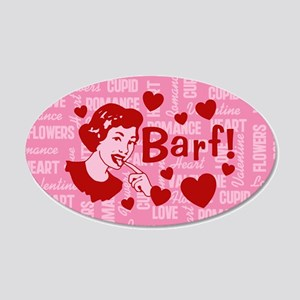 valentine-barf_b.png Wall Decal