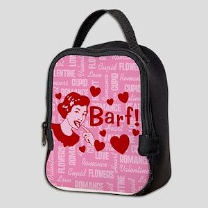 valentine-barf_b Neoprene Lunch Bag