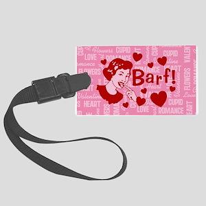 valentine-barf_b Luggage Tag