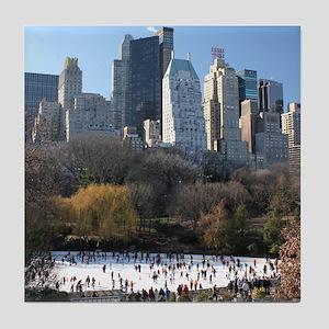 New York City Xmas - Pro Photo Tile Coaster