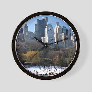 New York City Xmas - Pro Photo Wall Clock