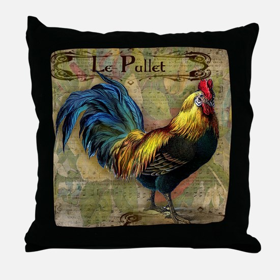 The Pullet Throw Pillow