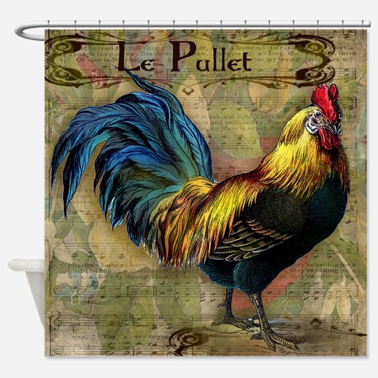 The Pullet Shower Curtain