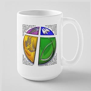 Christian Symbol Large Mug