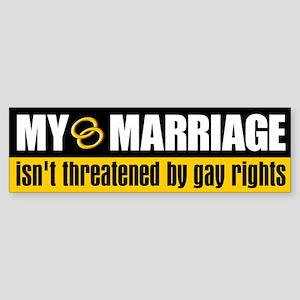 My Marriage Bumper Sticker