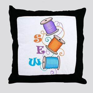 SEW Throw Pillow