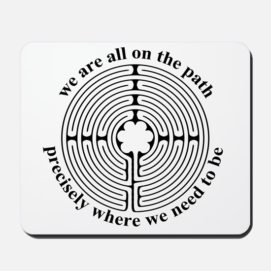 Finger Labyrinth Mousepad