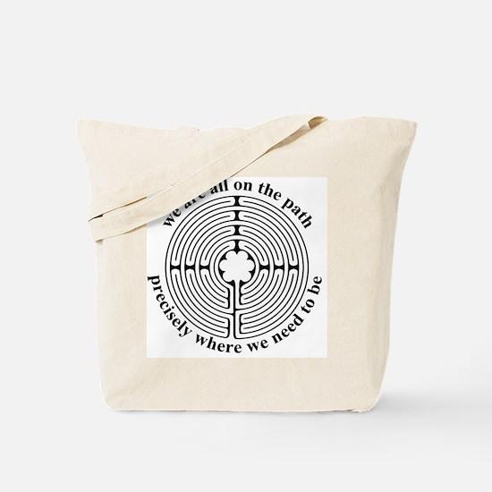 Finger Labyrinth Tote Bag