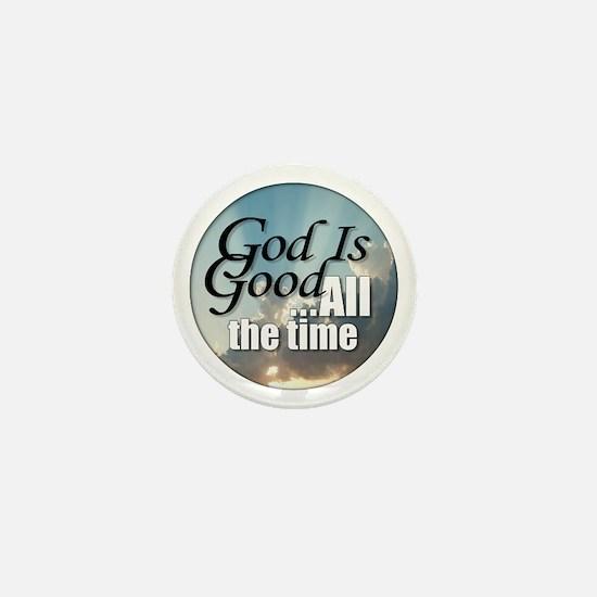 God Is Good Mini Button