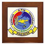 AEWBARRONPAC Framed Tile