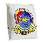 AEWBARRONPAC Burlap Throw Pillow