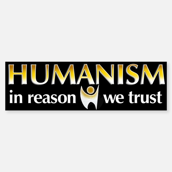 In Reason We Trust Bumper Bumper Bumper Sticker