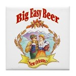 Big Easy Beer Tile Coaster