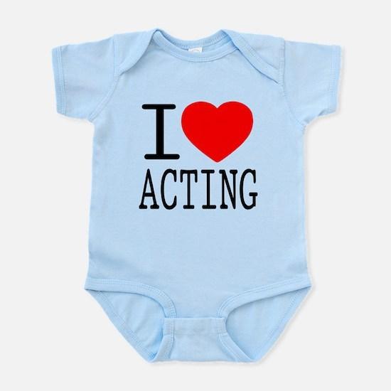I Love | Heart Acting Infant Bodysuit
