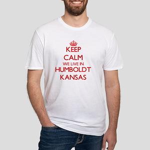 Keep calm we live in Humboldt Kansas T-Shirt
