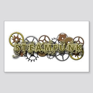 Steampunk Style Sticker