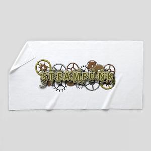 Steampunk Style Beach Towel