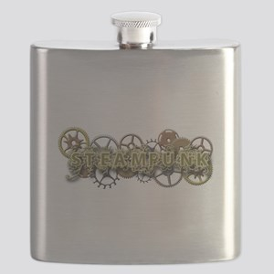 Steampunk Style Flask
