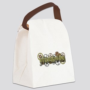 Steampunk Style Canvas Lunch Bag
