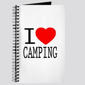 I Love | Heart Camping Journal