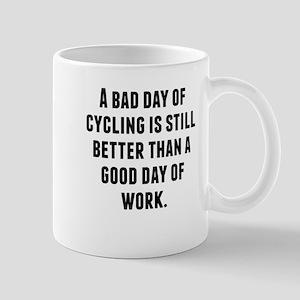 A Bad Day Of Cycling Mugs