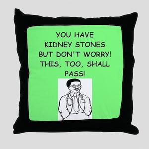 funny doctor joke Throw Pillow