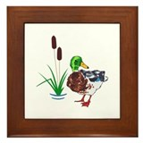 Duck Framed Tiles
