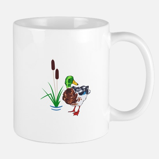 MALLARD AND CATTAILS Mugs