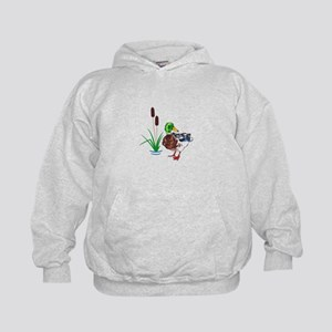 MALLARD AND CATTAILS Hoodie