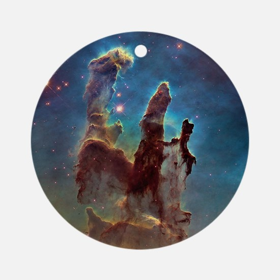 Pillars of Creation Round Ornament
