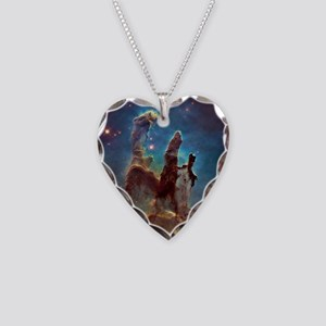 Pillars of Creation Necklace Heart Charm
