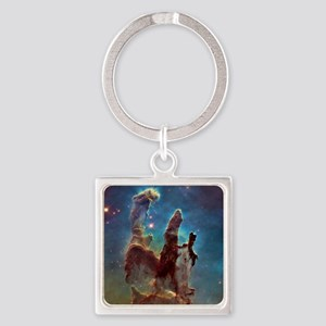 Pillars of Creation Square Keychain