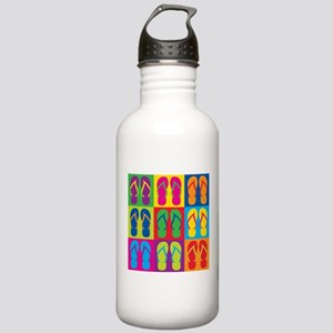 Pop Art Flip Flops Stainless Water Bottle 1.0L