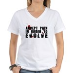 Buy Evolve Women's V-Neck T-Shirt