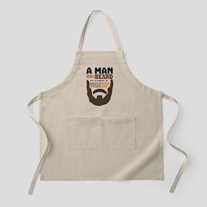 A man without a beard Apron