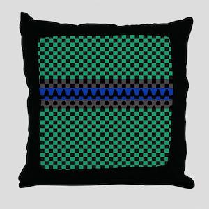 Aura Tribes Throw Pillow