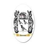 Iannone 20x12 Oval Wall Decal