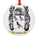 Ianno Round Ornament