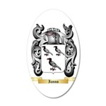 Ianno 20x12 Oval Wall Decal