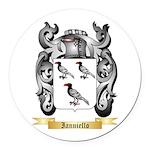 Ianniello Round Car Magnet
